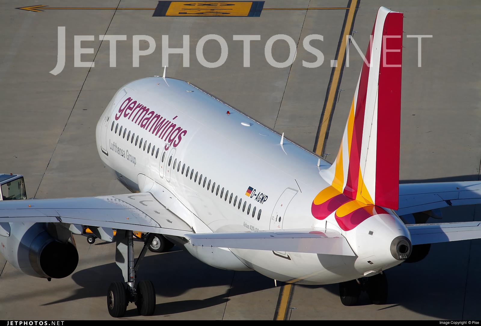 D-AGWP - Airbus A319-132 - Germanwings