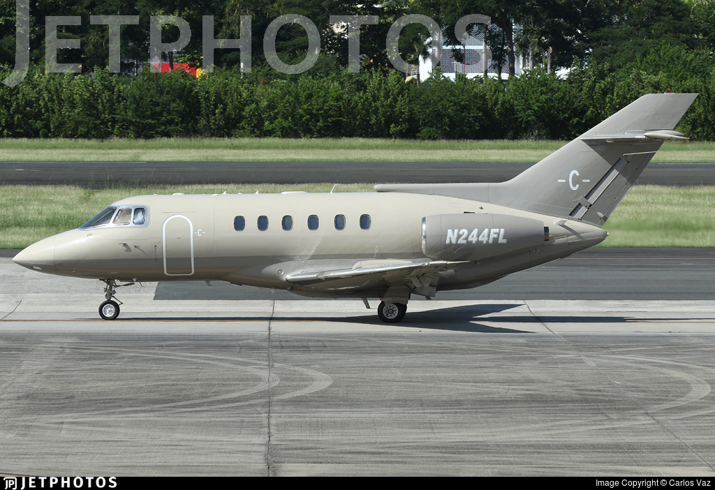 N244FL - British Aerospace BAe 125-800A - Private