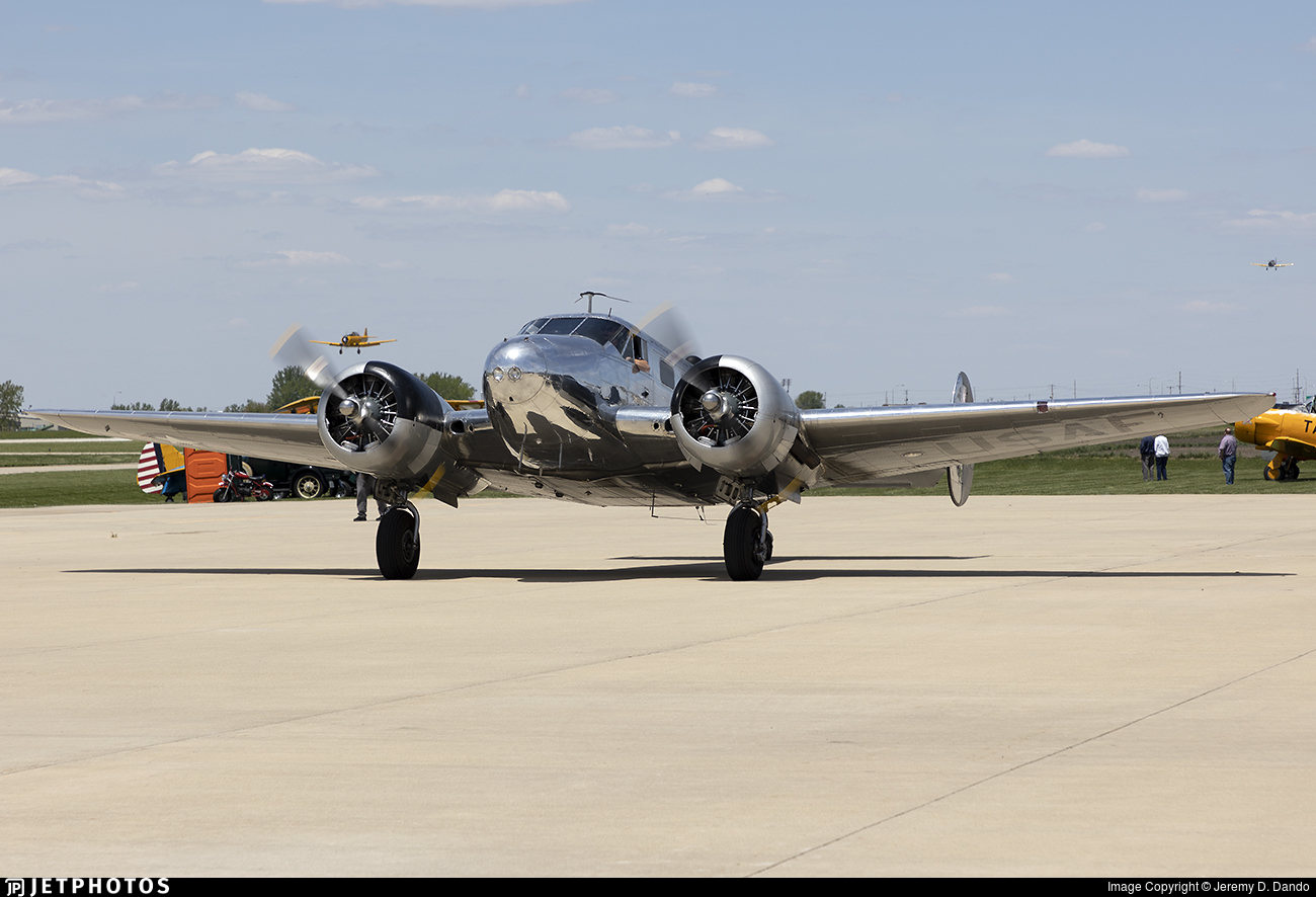N213DE - Beech C-45H Expeditor - Private