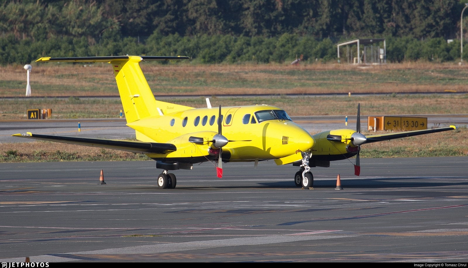 EC-JJP - Beechcraft B200 Super King Air - Eliance