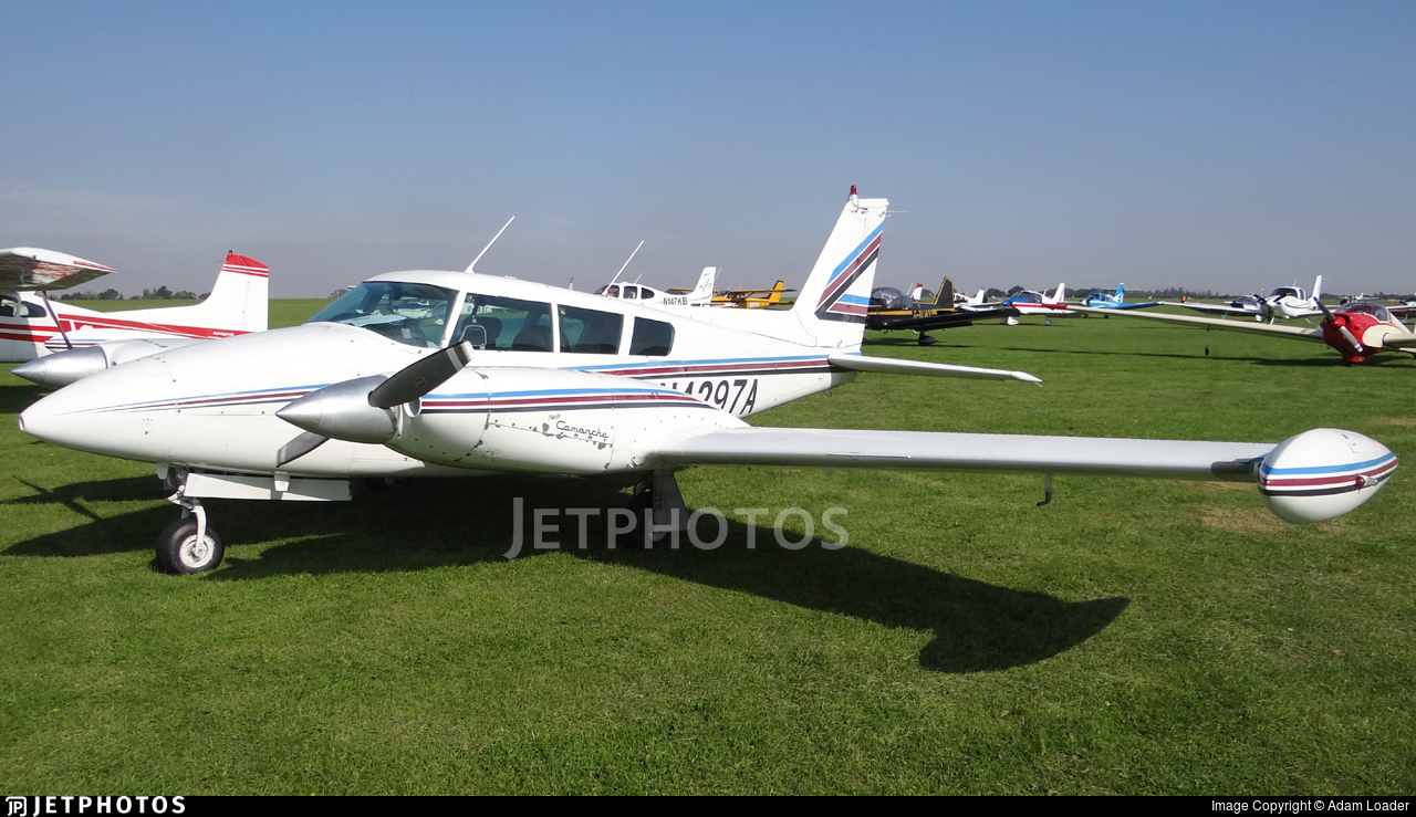 Twin Comanche Turbo >> N4297a Piper Pa 39 160 Turbo Twin Comanche C R Private Adam