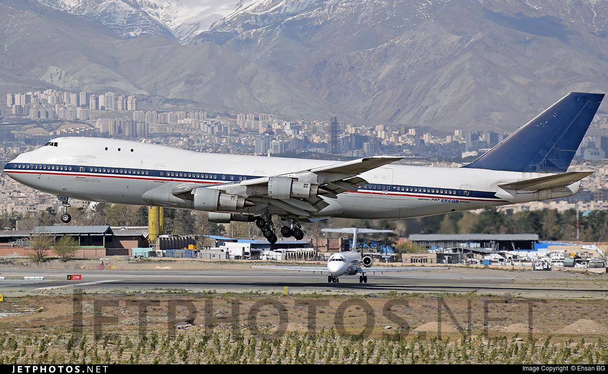 5-8101 - Boeing 747-131(SF) - Iran - Air Force