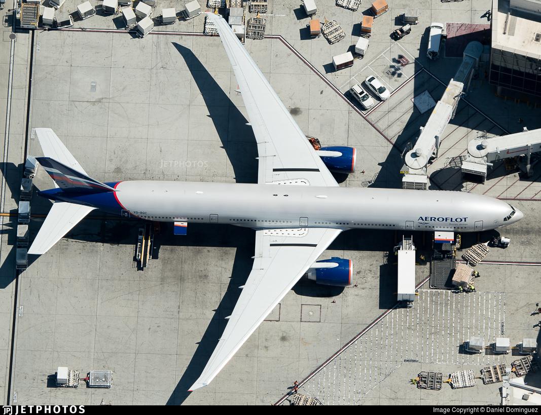 VQ-BQC - Boeing 777-3M0ER - Aeroflot