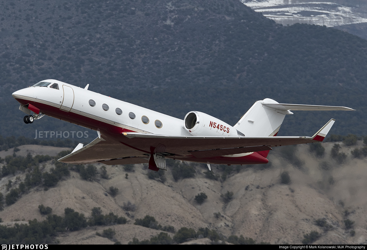 N545CS - Gulfstream G-IV - Private