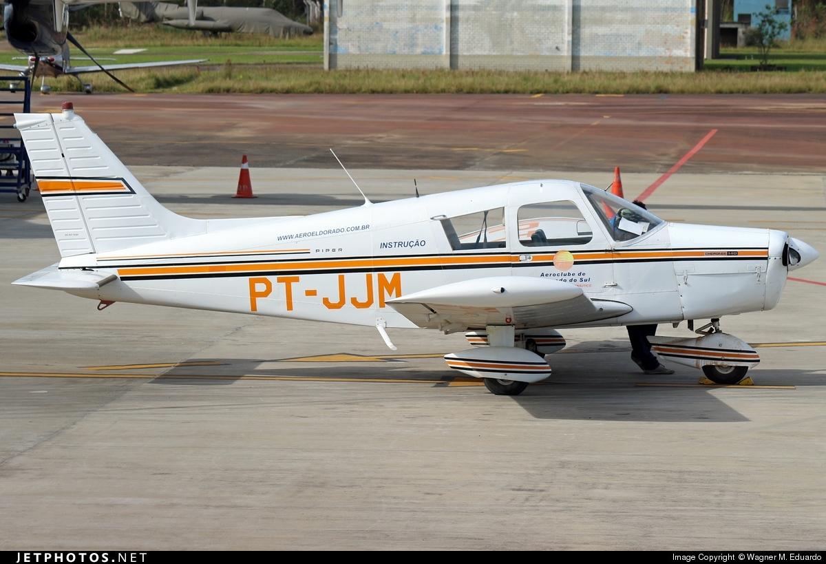 PT-JJM - Piper PA-28-140 Cherokee Cruiser - Aero Club - Eldorado do Sul