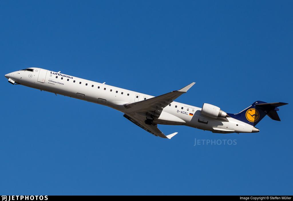 D-ACKL - Bombardier CRJ-900LR - Lufthansa CityLine