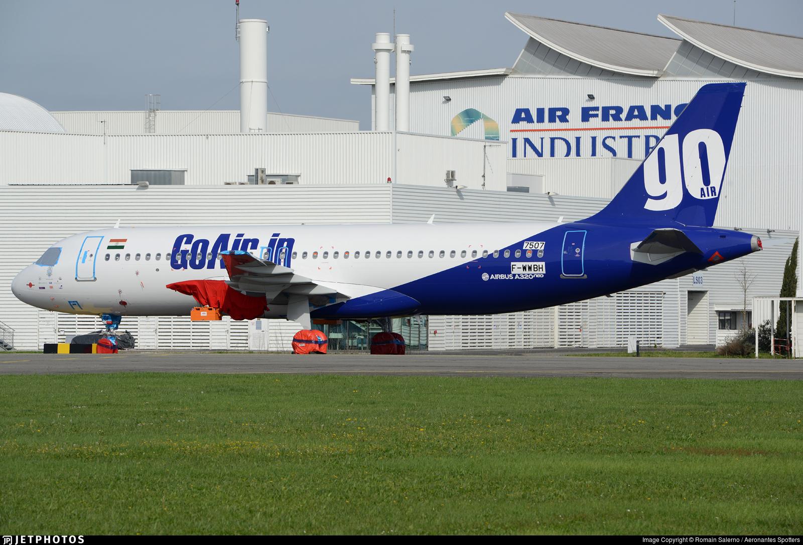 F-WWBH - Airbus A320-271N - Go Air