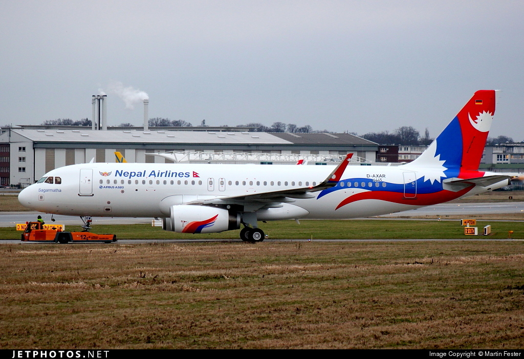D-AXAR - Airbus A320-233 - Nepal Airlines