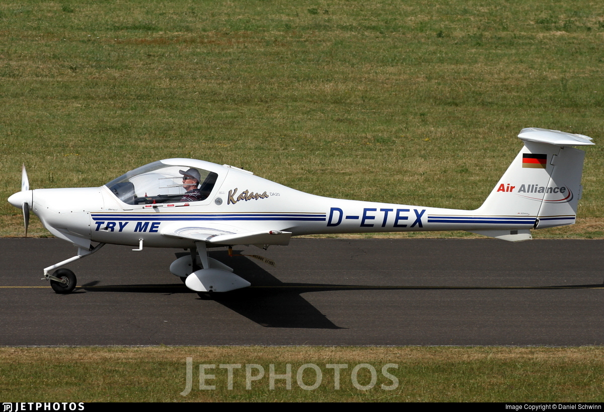fliegerschule sgm dv katana hb photo birrfeld diamond mirko