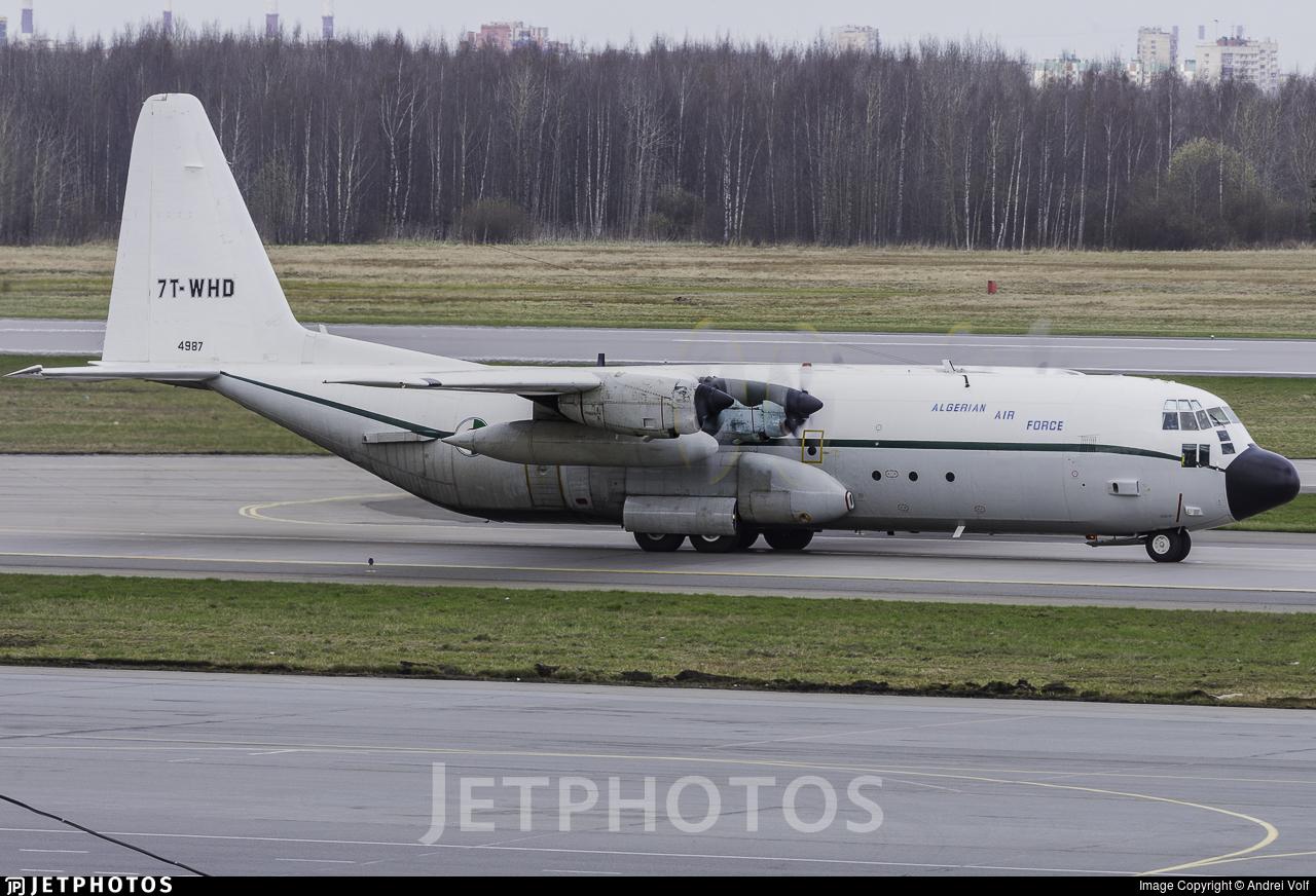 7T-WHD - Lockheed C-130H-30 Hercules - Algeria - Air Force