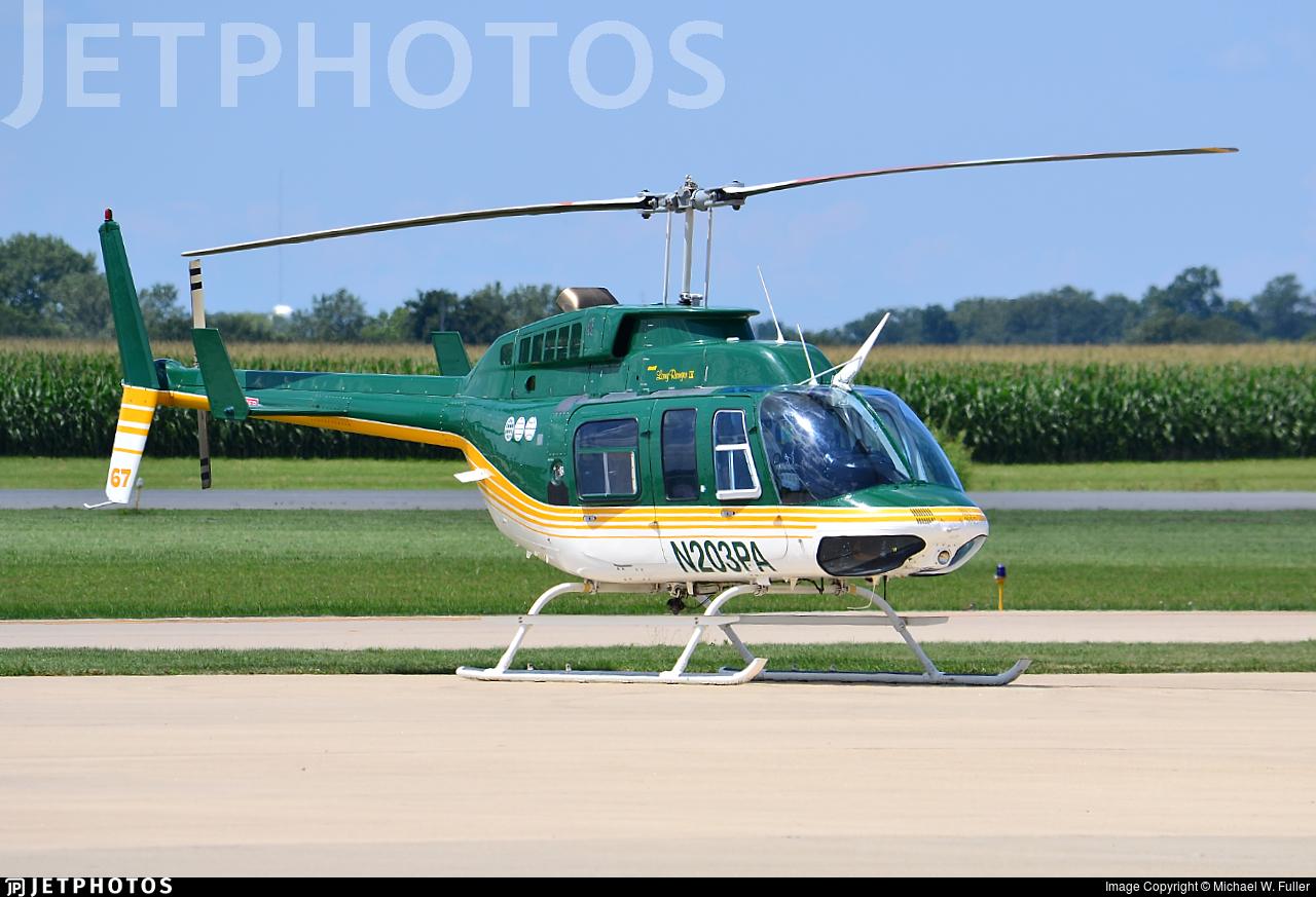 N203PA - Bell 206L-3 LongRanger - Private