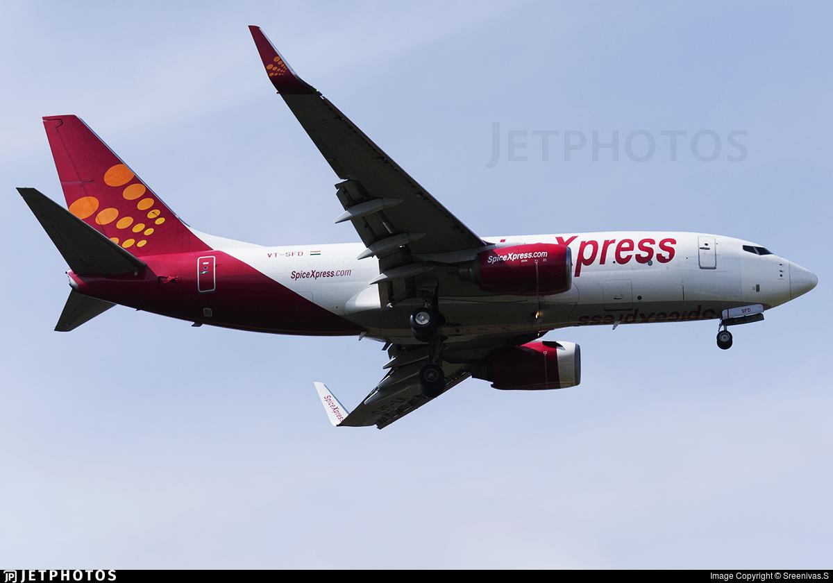 VT-SFD - Boeing 737-75C(BDSF) - SpiceXpress