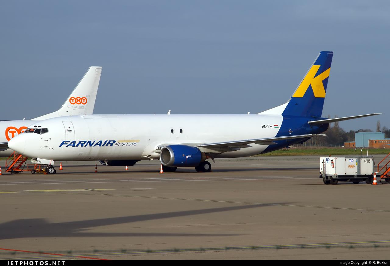 HA-FAV - Boeing 737-46Q(SF)  - Farnair Hungary