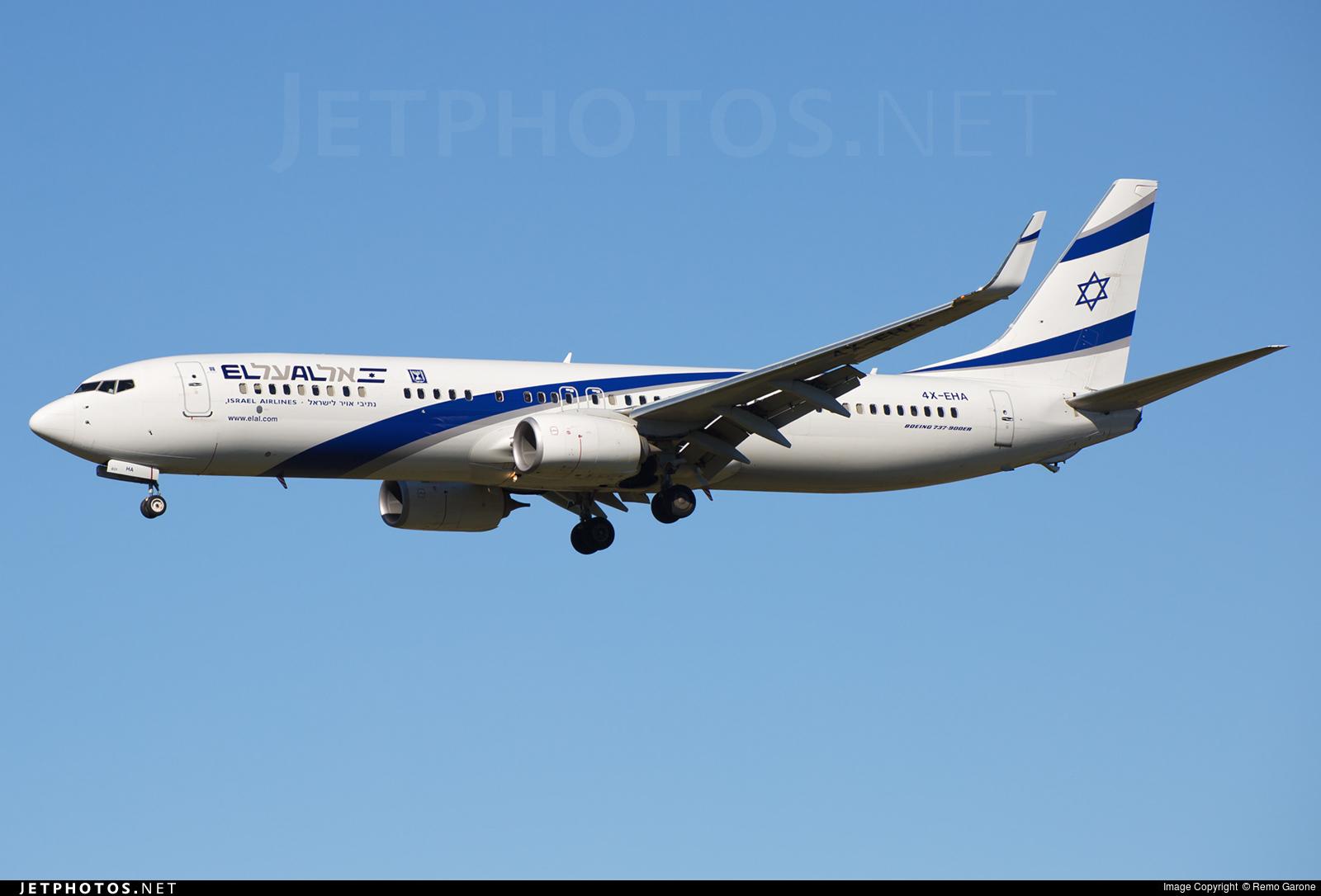 4X-EHA - Boeing 737-958ER - El Al Israel Airlines