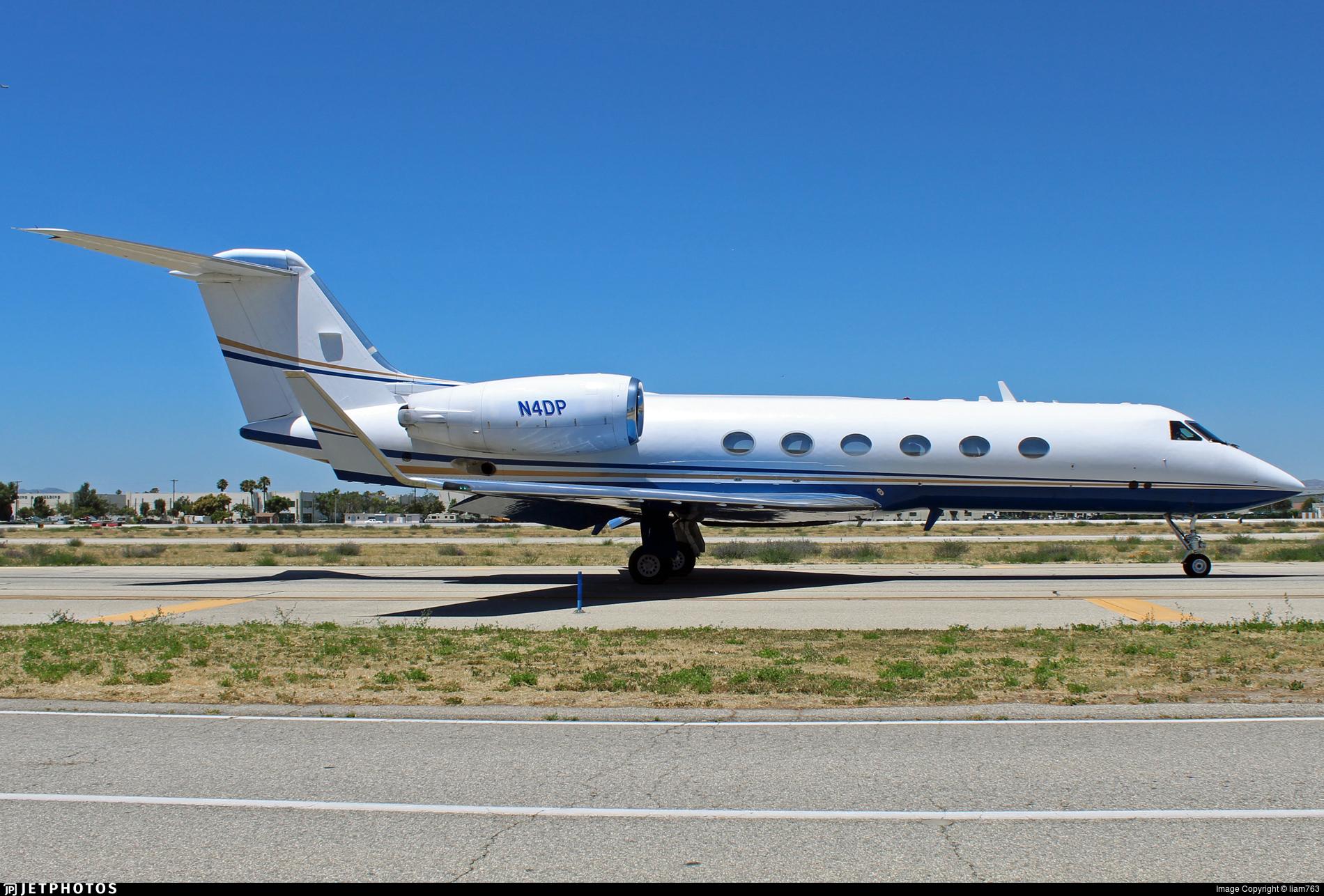 N4DP - Gulfstream G-IV - Private