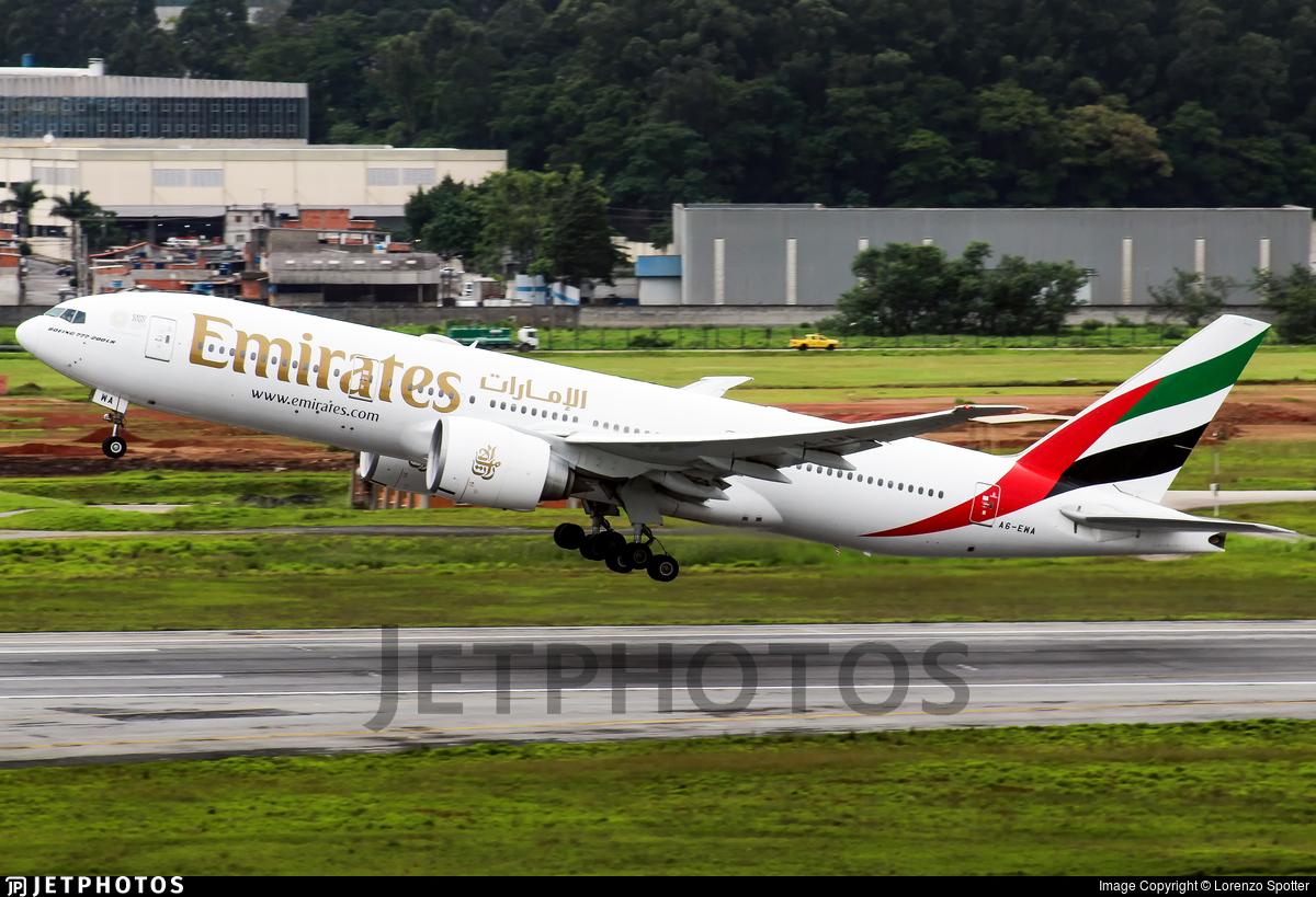 A6-EWA - Boeing 777-21HLR - Emirates