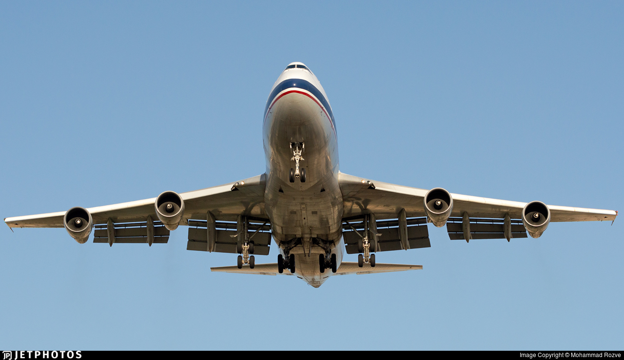 EP-SIH - Boeing 747-2J9F - Iran - Air Force