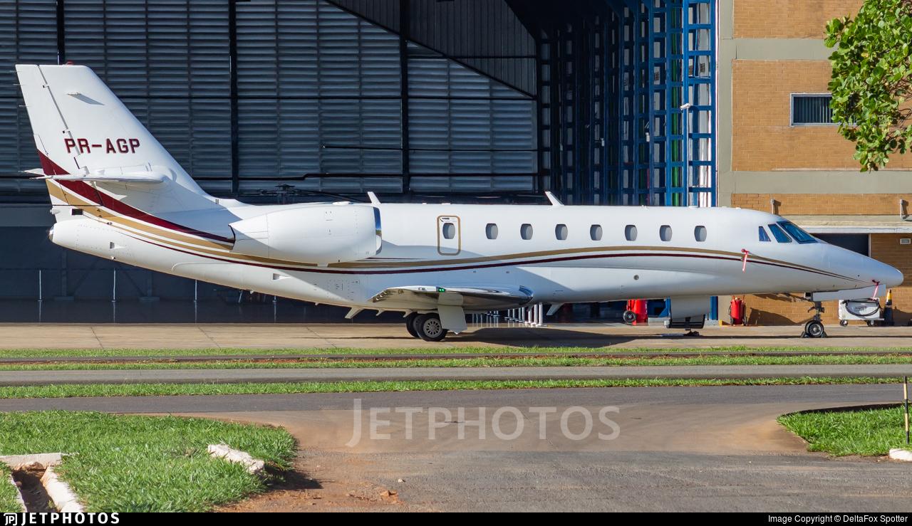 PR-AGP - Cessna 680 Citation Sovereign - Private