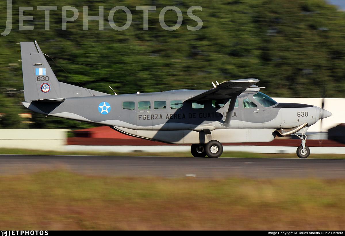 630 - Cessna 208B Grand Caravan EX - Guatemala - Air Force