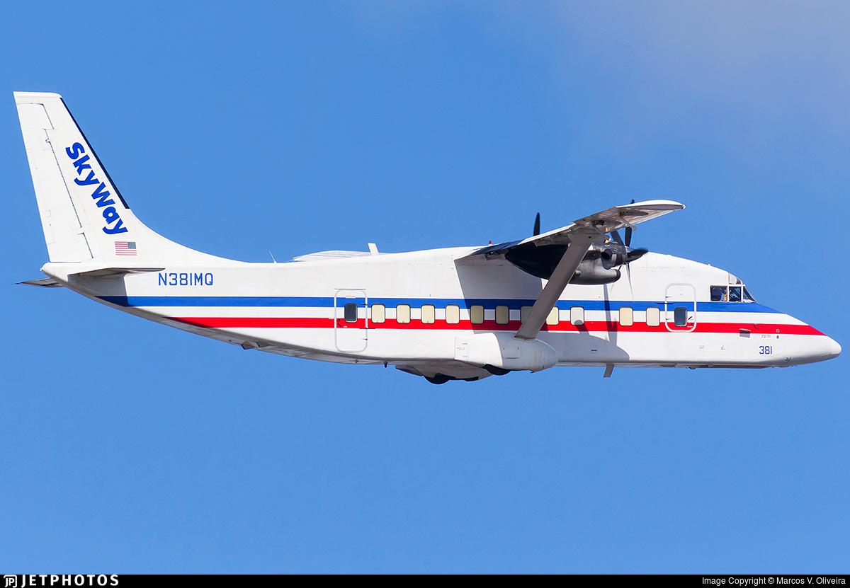 N381MQ - Short 360-100 - Skyway