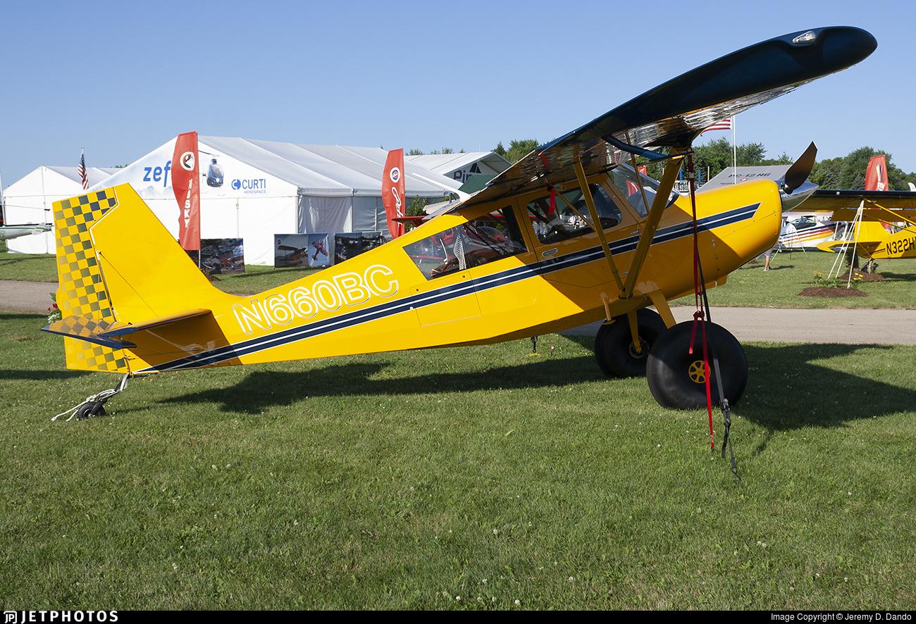 N660BC - American Champion 8GCBC Super Scout - Private