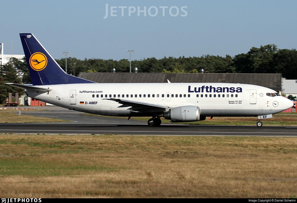 D-ABEF - Boeing 737-330 - Lufthansa