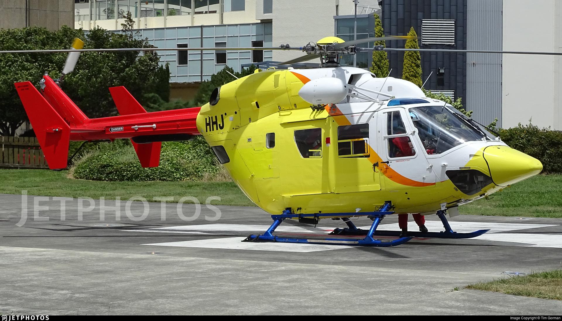 ZK-HHJ - MBB-Kawasaki BK117B-2 - Phillips Search & Rescue