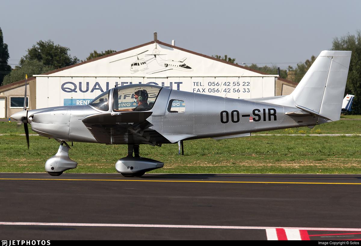 OO-SIR - Sonaca 200 - Private