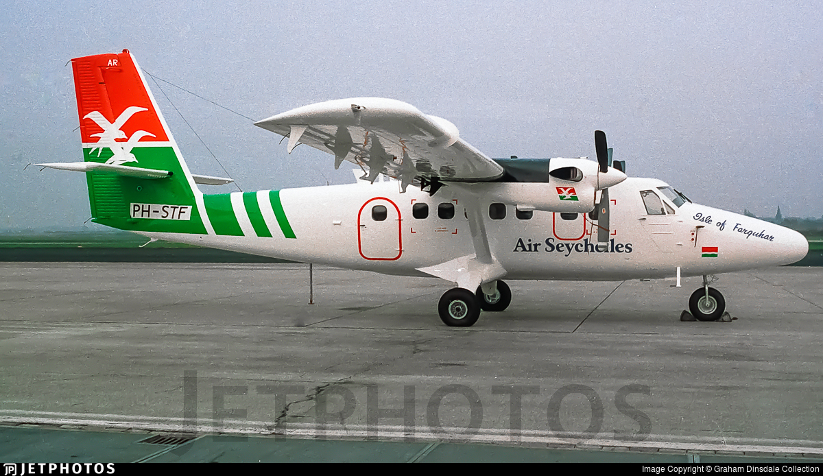 PH-STF - De Havilland Canada DHC-6-300 Twin Otter - Air Seychelles
