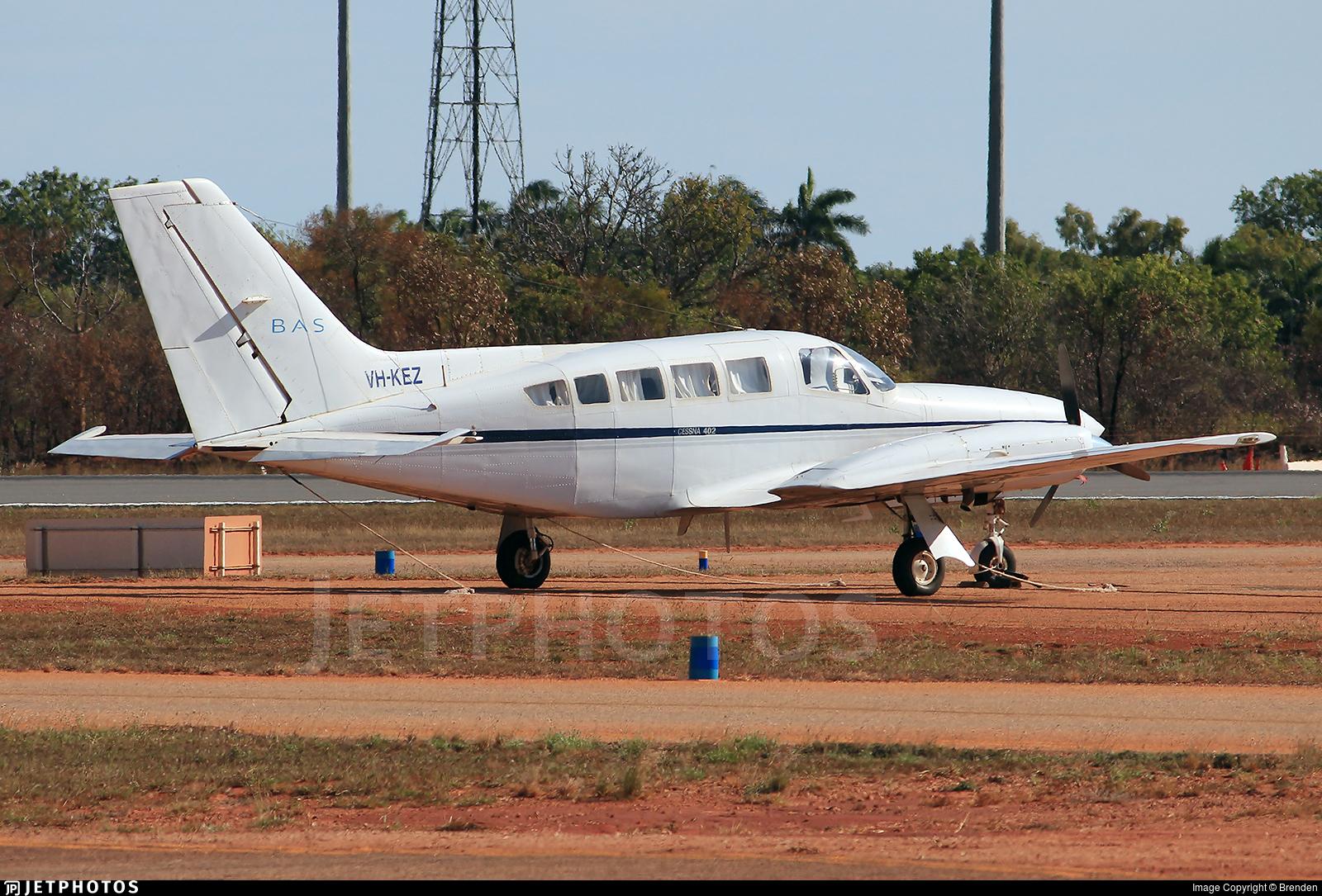 VH-KEZ - Cessna 402C - Broome Air Services