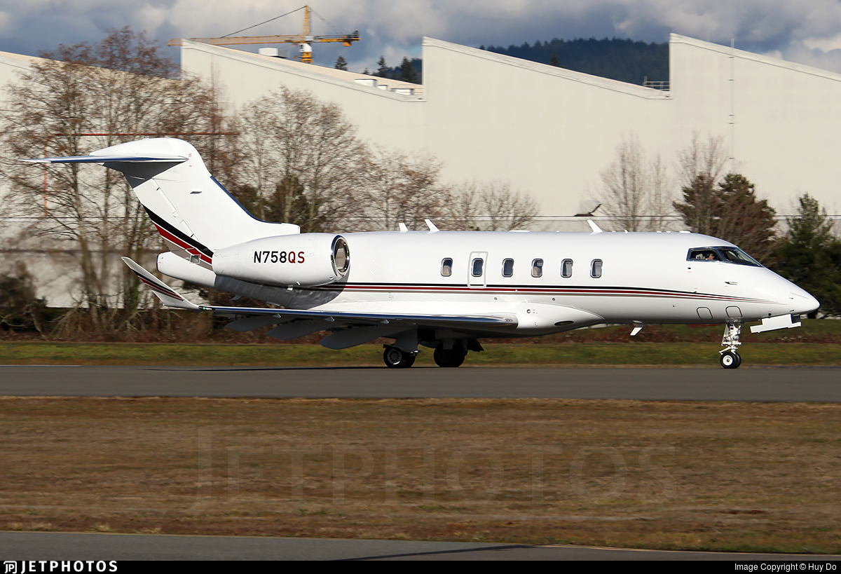 N758QS - Bombardier BD-100-1A10 Challenger 350 - NetJets Aviation