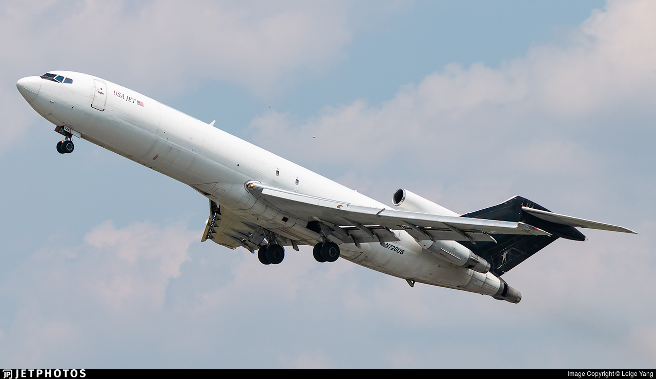 N726US - Boeing 727-223(F) - USA Jet Airlines