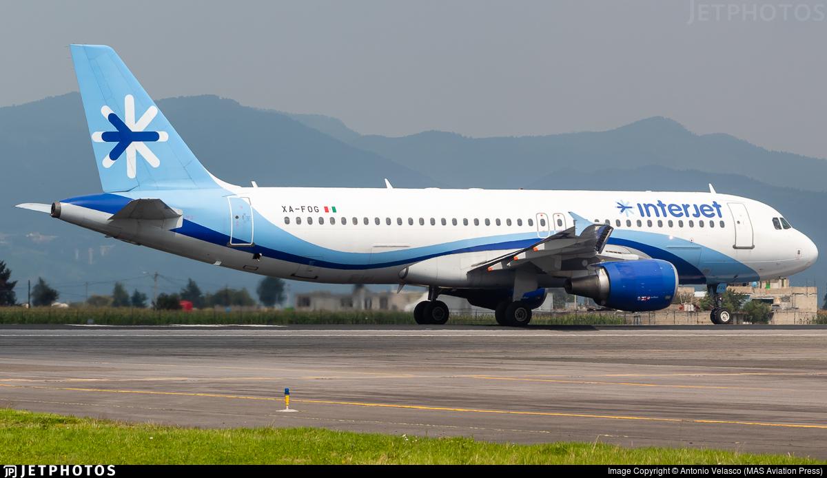 XA-FOG - Airbus A320-214 - Interjet