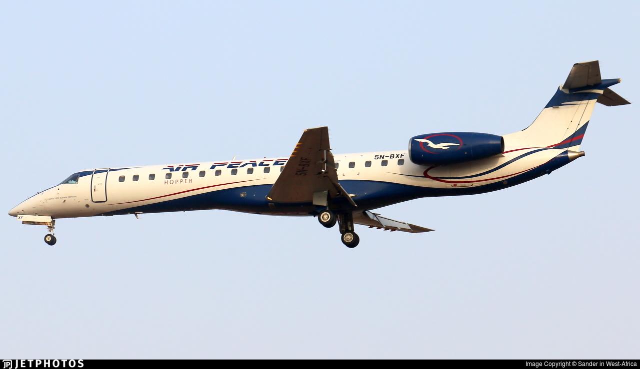 5N-BXF - Embraer ERJ-145LR - Air Peace