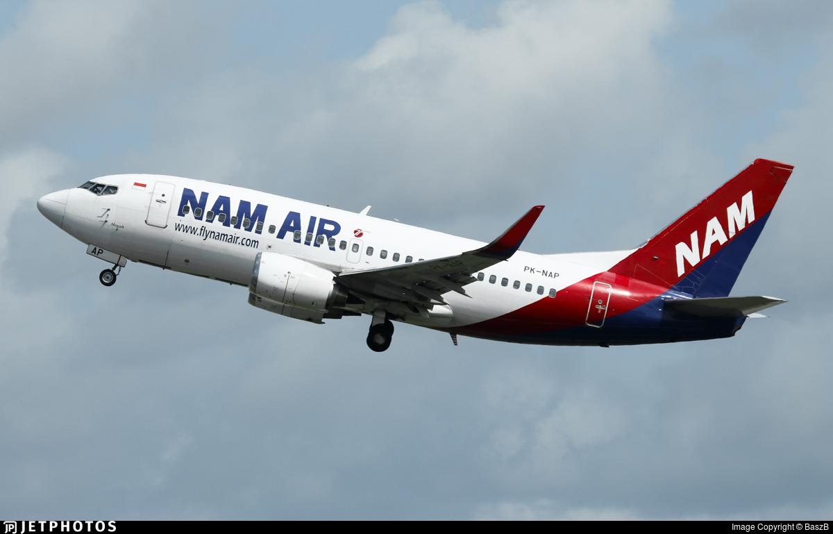 PK-NAP - Boeing 737-524 - NAM Air
