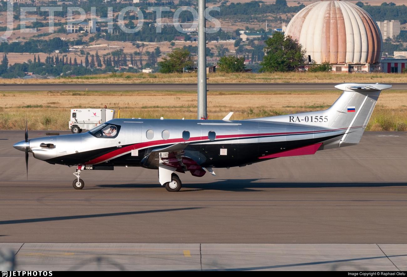 RA-01555 - Pilatus PC-12/47E - Private