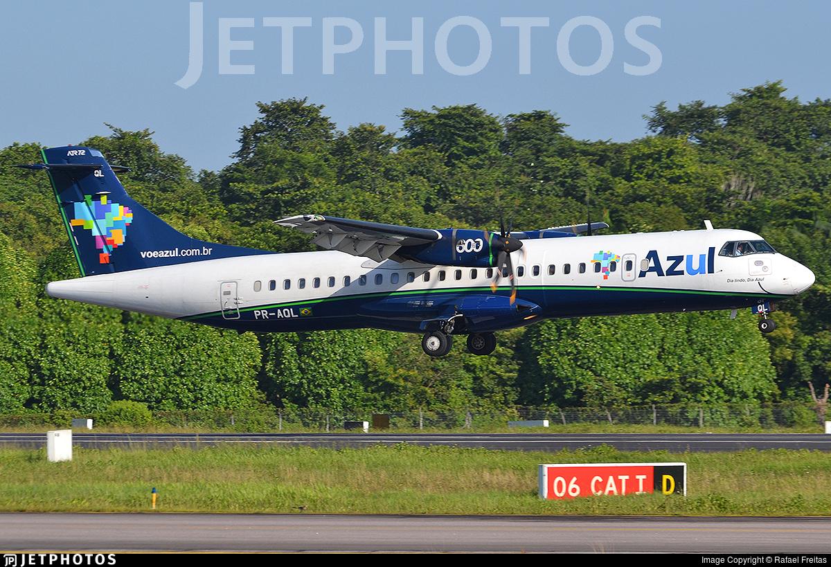PR-AQL - ATR 72-212A(600) - Azul Linhas Aéreas Brasileiras