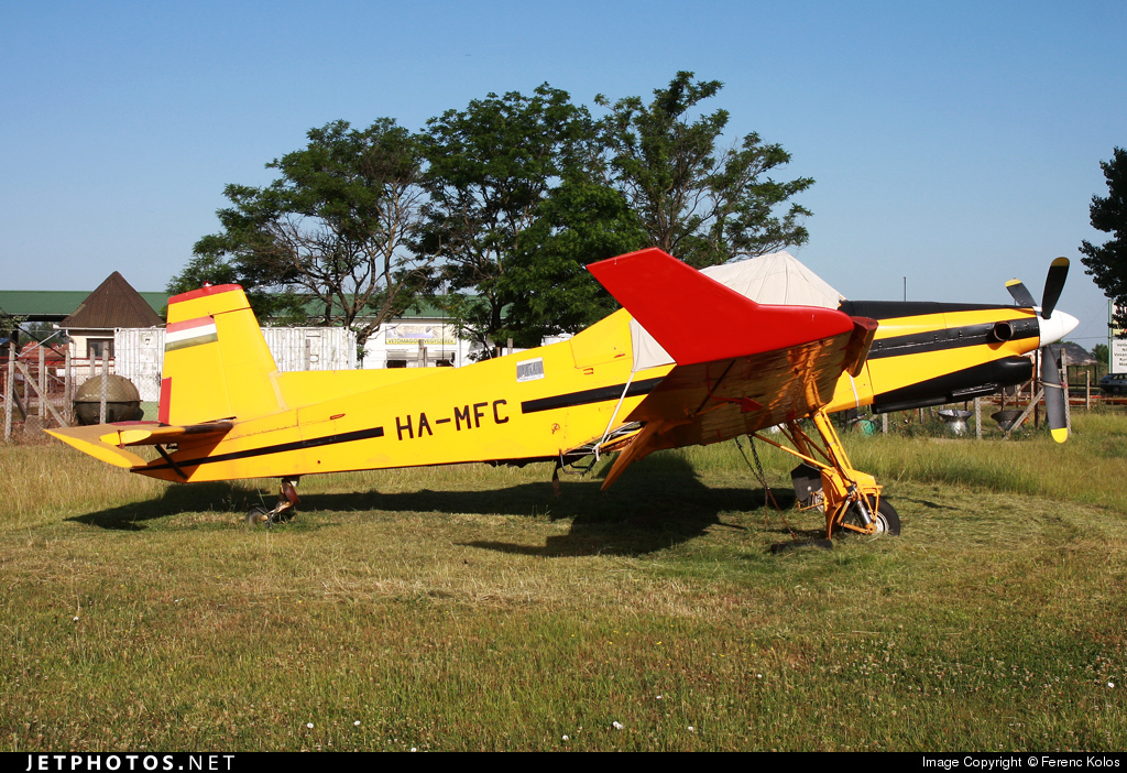 HA-MFC - Let Z-37T Agro turbo - Air Patrol