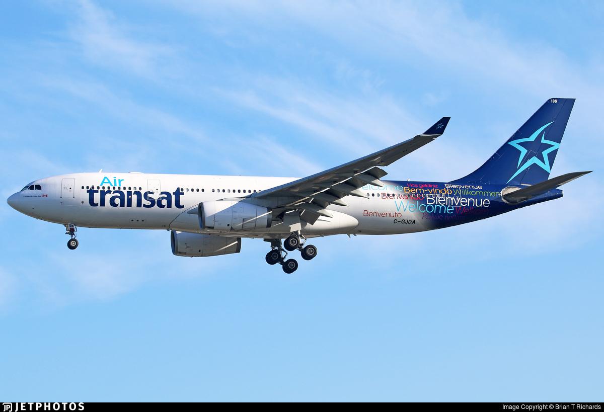 C Gjda Airbus A330 243 Air Transat Brian T Richards Jetphotos