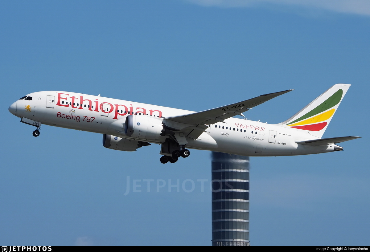 ET-AOS - Boeing 787-8 Dreamliner - Ethiopian Airlines