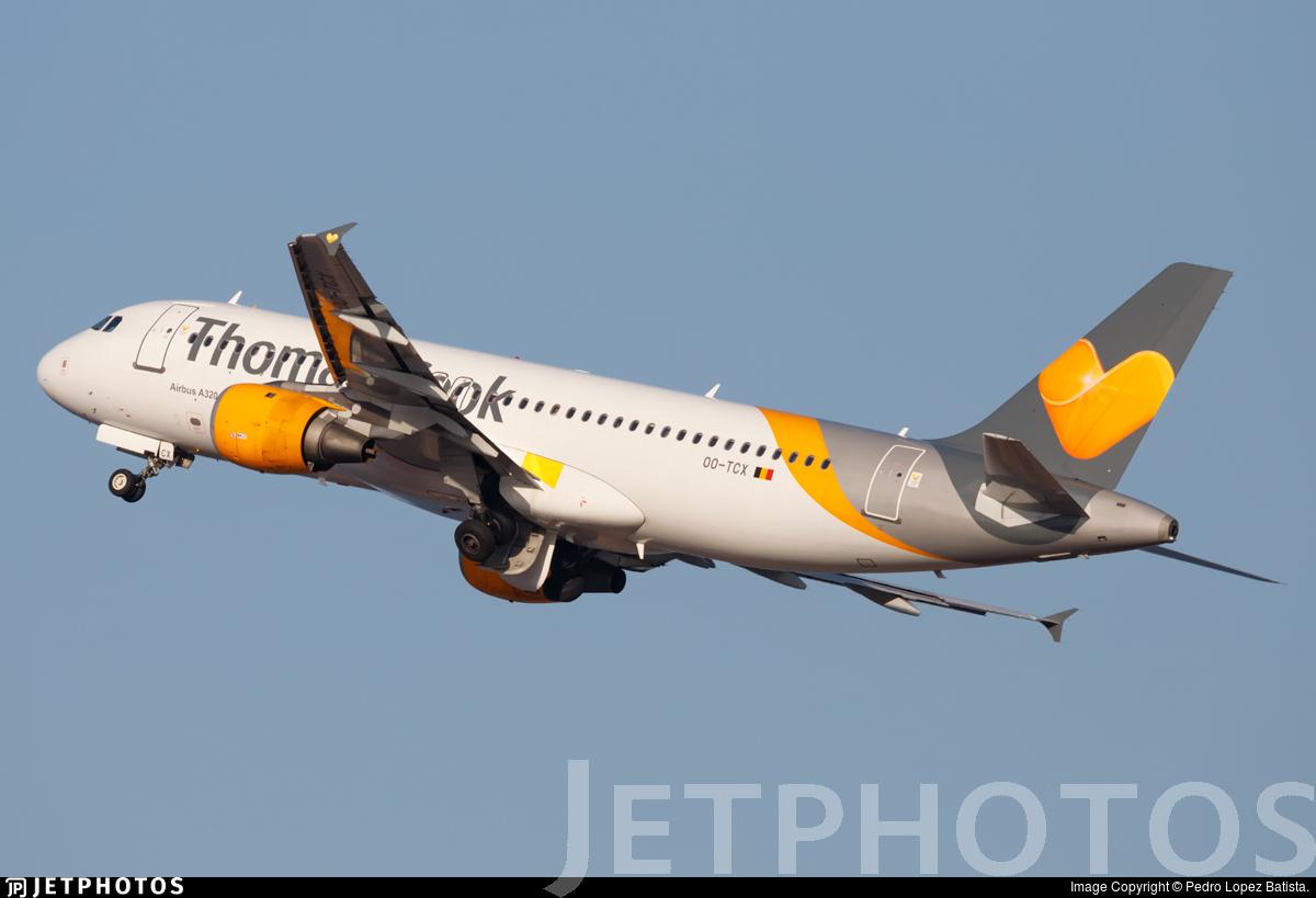 OO-TCX - Airbus A320-212 - Thomas Cook Airlines Belgium