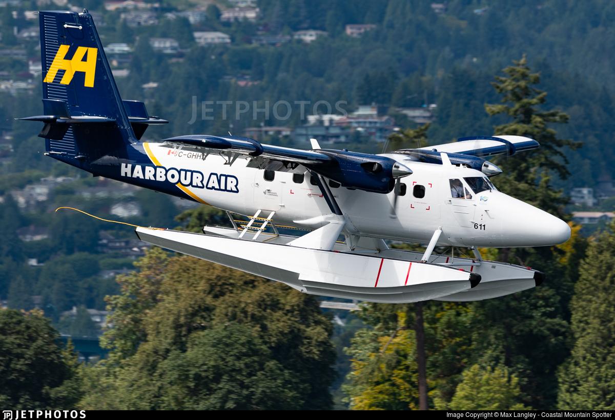 C-GHHA - De Havilland Canada DHC-6-300 Twin Otter - Harbour Air