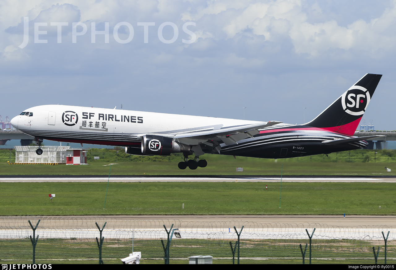 B-1423 - Boeing 767-338(ER)(BCF) - SF Airlines