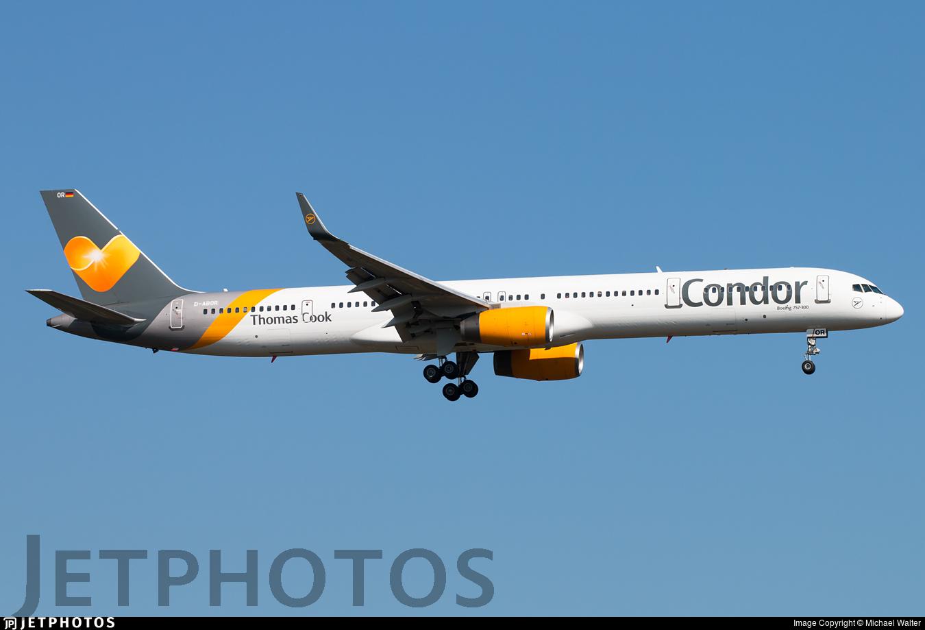 D-ABOR - Boeing 757-3CQ - Condor
