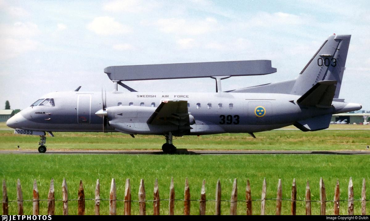 100003 - Saab S100D - Sweden - Air Force