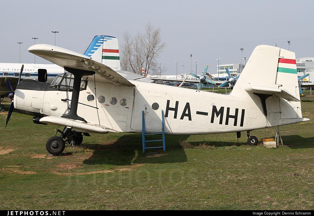 HA-MHI - Antonov An-2 - Budapest Aircraft Service