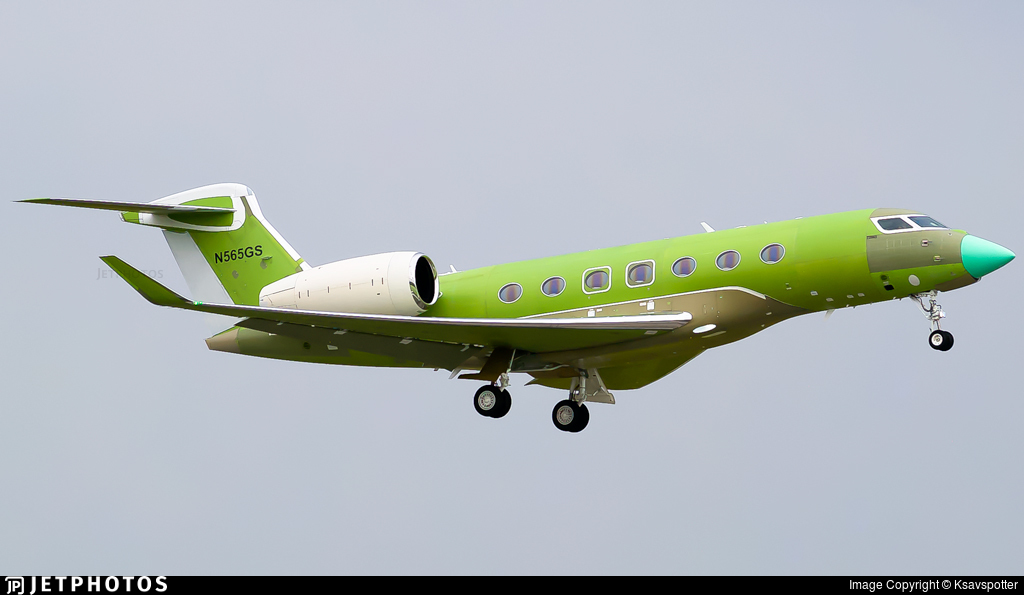 N565GS - Gulfstream G500 - Gulfstream Aerospace