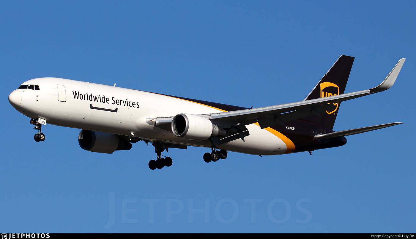 N306UP - Boeing 767-34AF(ER) - United Parcel Service (UPS)