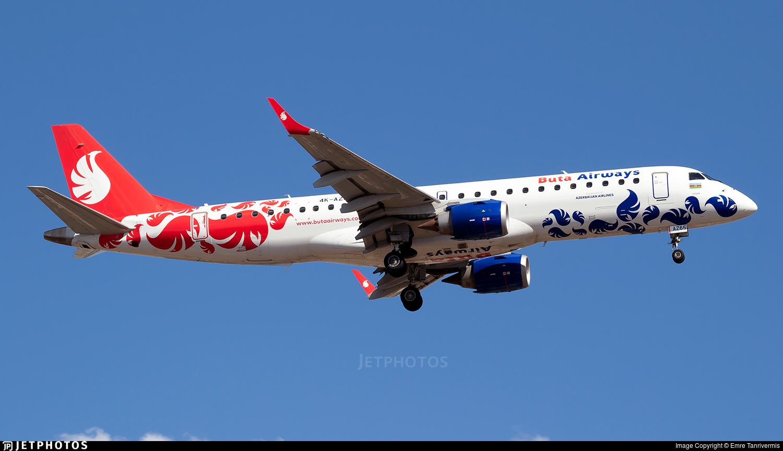4K-AZ65 - Embraer 190-100IGW - Buta Airways