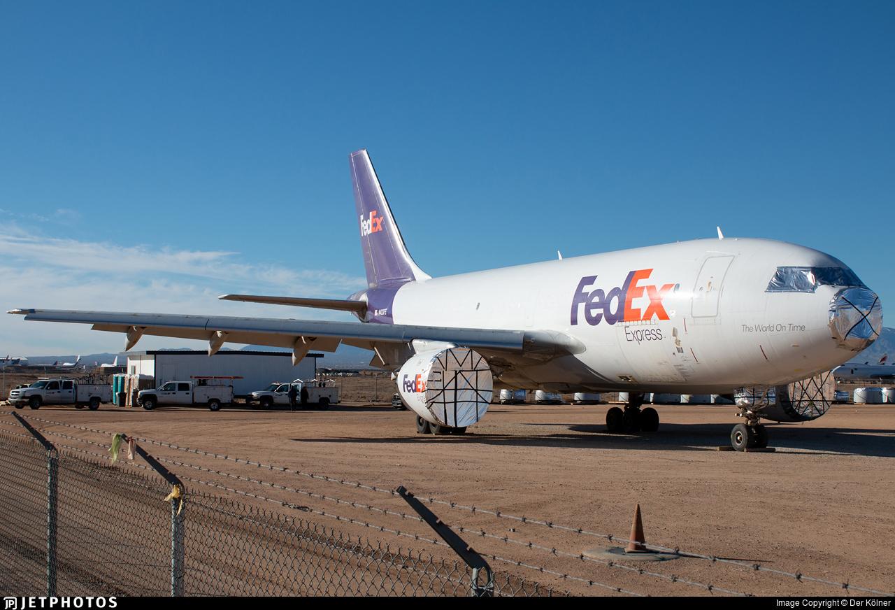 N403FE - Airbus A310-203(F) - FedEx
